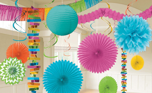 Party America Can Help Make Any Celebration Even More Special With Hanging Decorations Paper Lanterns Banners Confetti And In Solid Colors Or Fun
